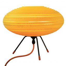 "Baby UFO Table Lamp Yellow 12"""