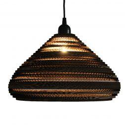 "Lampshade Pendant Cone 13"" Cardboard"