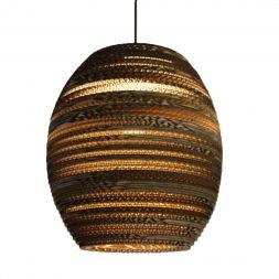 "Lampshade Pendant Beehive 10"" Cardboard"